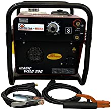 CANAWELD-MOSA Engine Driven Welder MADE IN ITALY 200 Amp 60% Duty Cycle Magic Weld Portable Inverter Stick DC ARC Welder Engine GX 270 Light Weight 135 lb. (61 Kg) without trolley