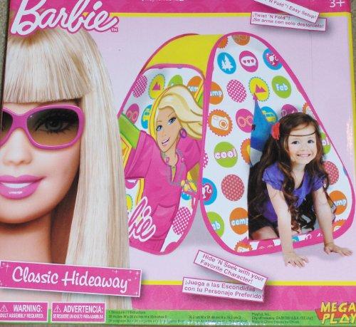 Barbie Classic Hideaway Play Tent Playhut