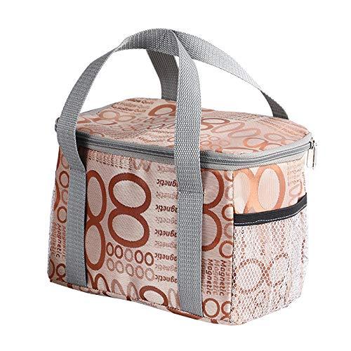 UG1 Picknick-Korb, Isolierung Picknick Eisbeutel, isolierte wasserdichte Kühltasche für Outdoor Wein Picknick-Korb Set packen, 16 * 15 * 22cm