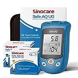 Sinocare Glucosa en sangre y Medidor de ácido úrico Sistema de doble función Monitor de azúcar...