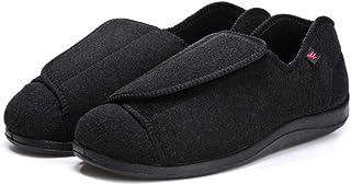 B/H Gonflés Arthrite Oedème Swollen Pantoufle,Pieds enflés Chaussures diabétiques d'âge Moyen et de Personnes âgées,Grande...