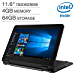 """2019 New Lenovo 300e Flagship 2-in-1 Laptop/Tablet for Business or Education, 11.6"""" HD IPS Touchscreen, Intel Celeron Quad-Core N3450 up to 2.2GHz, 4GB DDR4, 64GB eMMC SSD, WiFi, Webcam, Win 10 S/Pro"""
