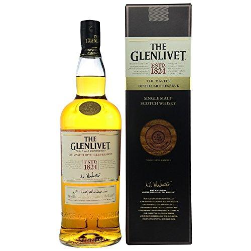 Glenlivet Master Distiller's Reserve 1824 mit Geschenkverpackung  Whisky (1 x 1 l)