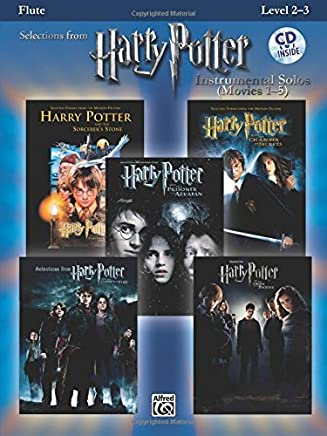 Harry Potter Instrumental Solos (Movies 1-5): Flute, Book & CD (Pop Instrumental Solo Series) by Unknown(2008-02-01)