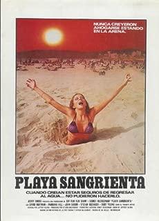 Blood Beach Movie Poster (27 x 40 Inches - 69cm x 102cm) (1981) Spanish -(David Huffman)(Marianna Hill)(John Saxon)(Burt Young)(Otis Young)(Pamela McMyler)