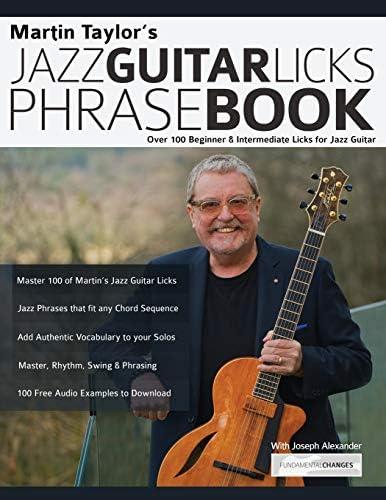 Martin Taylor s Jazz Guitar Licks Phrase Book Beginner Intermediate Licks for Jazz Guitar product image