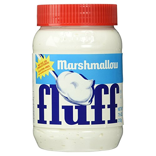 La Comtesse Original Marshmallow-Fluff aus den USA, Vanille, 1 Pack (1 x 213 g)