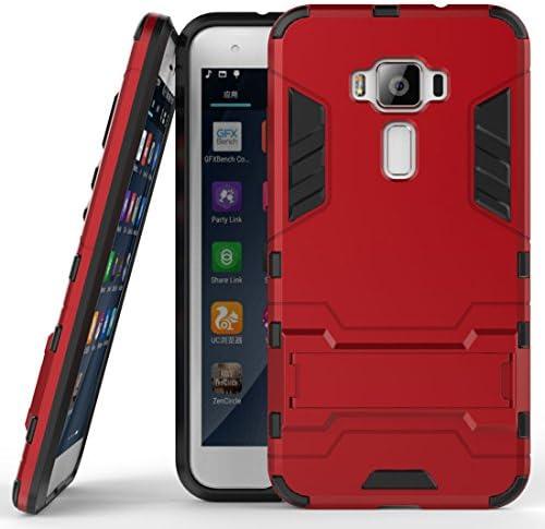 SCIMIN Asus Zenfone 3 ZE520KL Hybrid Case Zenfone 3 ZE520KL Shockproof Case Dual Layer Protection product image