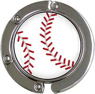 [プロモ] バッグハンガー ボール柄 全7種 [ゴルフ/テニス/バレー白/バレー青黄/バスケ/野球/サッカー] 専用ポーチ付