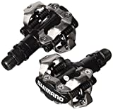 SHIMANO PDM520 Clipless <span class='highlight'>SPD</span> Bicycle Cycling <span class='highlight'><span class='highlight'>Pedal</span>s</span> BLACK <span class='highlight'>With</span> Cleats