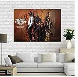 DNJKSA Black Eyed Peas Poster Kunstdruck auf