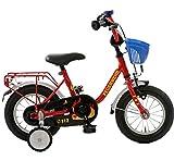 Unbekannt Kinderfahrrad 12 Zoll mit Stützräder und Rücktrittbremse Jungen Mädchen sam Fahrrad...