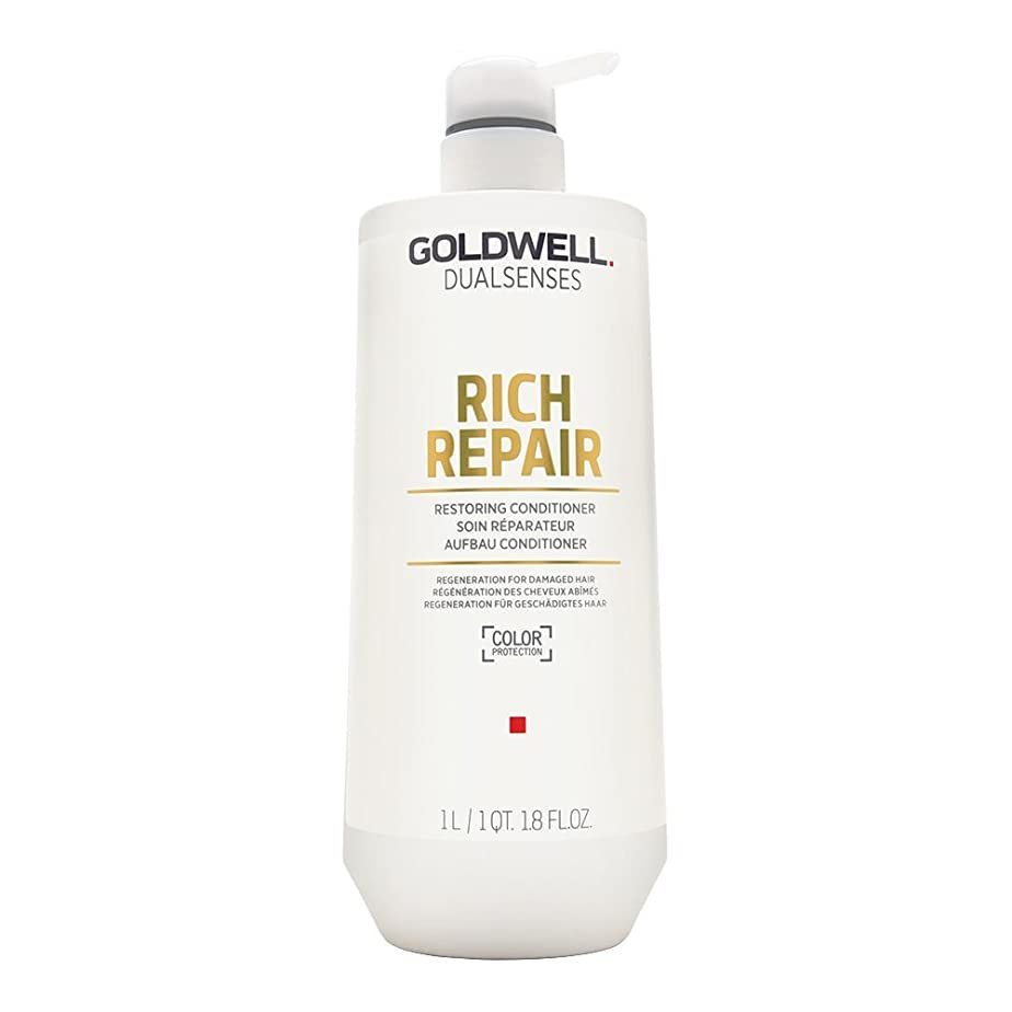 翻訳熱意犯人ゴールドウェル Dual Senses Rich Repair Restoring Conditioner (Regeneration For Damaged Hair) 1000ml