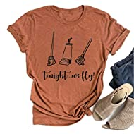 Hocus Pocus Halloween Shirts for Women Fall Tee Shirt Classic Halloween Movie Tops