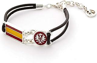 ART3 Pulsera Emblema Aguila con Bandera de España