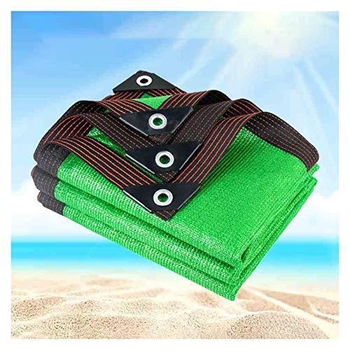ZHANGQINGXIU Malla Sombra De Red,Sombra De Vela Paño De Sombra Red De Sombra Aislamiento Protección Solar Anti-UV para Patio Piscina Coche Balcón Camión, 47 Tamaños (Color : Green, Size : 2x3m)
