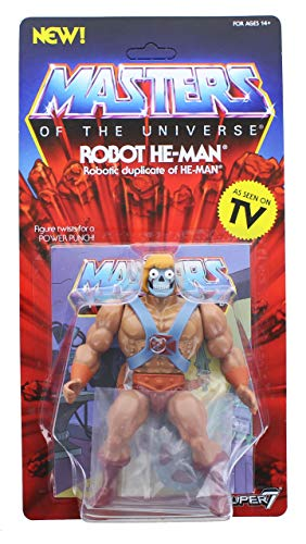 He-Man Masters of The Universe Vintage Collection Actionfigur Wave 2 Robot 14 cm
