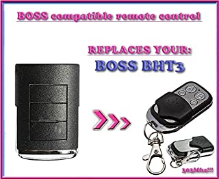 Boss BHT3 compatible remote control, replacement transmitter for garage door openers! Top Quality key fob, 303MHz !!!