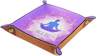 Chakra de méditation de Yoga Boîte De Rangement De Salle De Bain Étanche Et Pliable pour La Maison 4x4cm