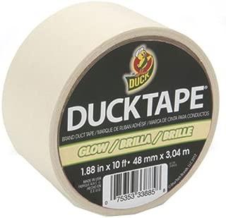 Duck Brand 281261 Glow in the Dark Duck Tape, 10' Length x 1-7/8