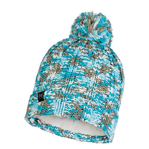 Buff 120705.711.10.00 Knitted & Polar Hat Livy Aqua Unisex-Adult, no