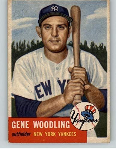 1953 Topps #264 At the price Gene Woodling Yankees Young Kit EX 393225 Cards Tucson Mall
