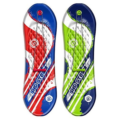 Sno-Storm 48in Snowboard Foam Sled 2-Pack