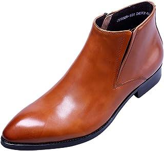 Homme Bottines Classiques Cuir Chelsea Boots Habillées Bottes