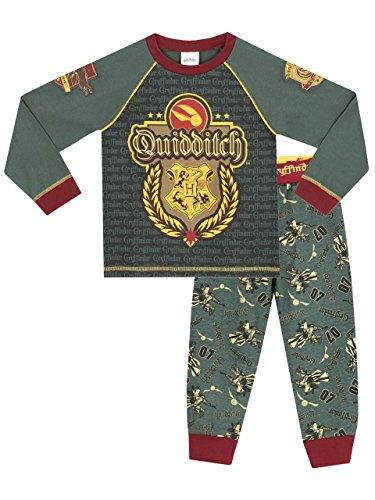 HARRY POTTER Pijamas para Niños Quidditch 12-13 Años