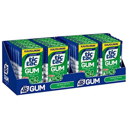 Ferrero Tic Tac Gum Spearmint, 24er Pack (24 x 17,5g)