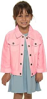 Toddler White Denim Jacket