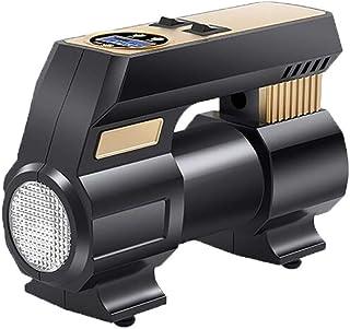 ضاغط هواء رياضي، مضخة سيارة 12 فولت مع معزز Windows سريع ، ضوء LED ، شاشات LCD رقمية للسيارة ودراجات وغيرها من المطاطية