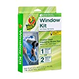 Duck 286218 Extra Large Patio Door Shrink Film Window insulation kit, 1, Crystal Clear