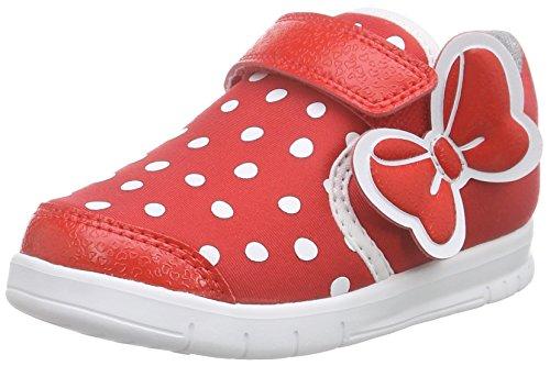 adidas Baby Mädchen Disney M&M Sneaker, Rot (Vivid Red S13/Core Black/FTWR White), 23