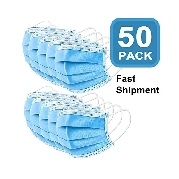 Corona Virus protection products Disposable Nitrile Gloves- 50Pcs/25 Pairs -Rubber Latex Free, Medical Exam Grade,