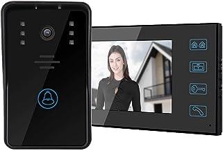 Rainproof High Denifition Video Doorbell, 1000 Line Video Intercom Doorbell, Hotels Villas for Public Buildings(Australian...