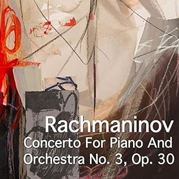 Rachmaninov Concerto For Piano And Orchestra No. 3, Op. 30