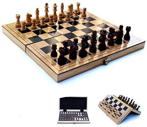 NBALL-TT Schach-Set Travel Chess Set Tragbare Falten Brettspiel-Reisen Sized Mit Storage Boxs Educational Lernspielzeug Für Kinder Und Erwachsene