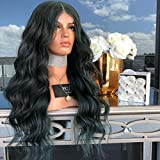 Brazilian Body Wave Human Hair Lace Front Wigs with Baby Hair 150% Density