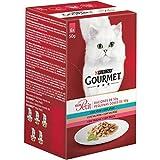 Gourmet - Mon Petit Selección de Pescados Pack Surtido sobres 6 x 50 g - 300 g