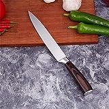Kuchenmesser 5-teiliges Küchenmesser professionelles Kochmesser 7CR17 hohe Carbon-Edelstahl...