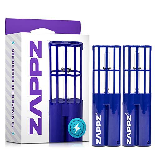 Zappz Shoe Deodorizer, Foot Powder & Deodorizer Spray Alternative - Foot Odor Eliminator Keep Shoes Dry and Odor-Free