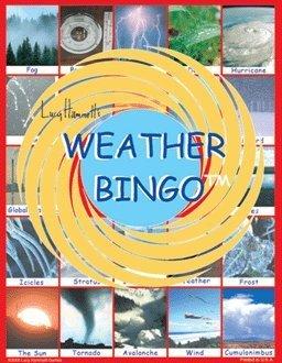 Lucy Hammett Games Weather Bingo Game