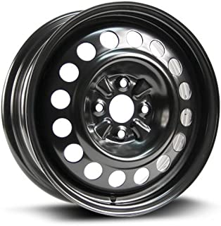 RTX, Steel Rim, New Aftermarket Wheel, 15X5.5, 4X100, 54.1, 45, black finish X40957