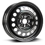 RTX, Steel Rim, New Aftermarket Wheel, 15X5.5, 4X100, 54.1, 45, black finish X40957