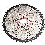 Cassette Mtb Ruota Libera Biciclette 11-46t 8 Rapporti Ampio Rapporto Bike Sprocket Parte Accessary Silver Mountain Bike