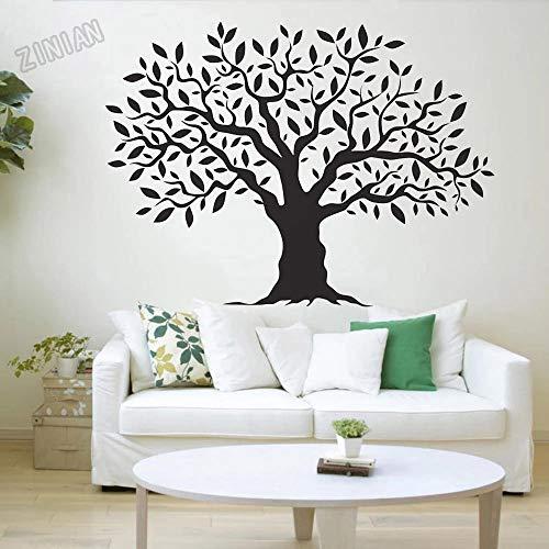 WERWN Pegatinas de Pared de árbol Pegatinas de Pared decoración de gabinete Vinilo decoración del hogar Papel Tapiz decoración de habitación de niños