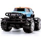 WGFGXQ Camión de Control Remoto de Gran tamaño a Escala 1:14, Impermeable, Profesional, Todo Terreno, RC, 2,4 GHz, Control de Radio, 9,6 V, batería Recargable, 4x4, vehículo Todoterreno, Alta veloc