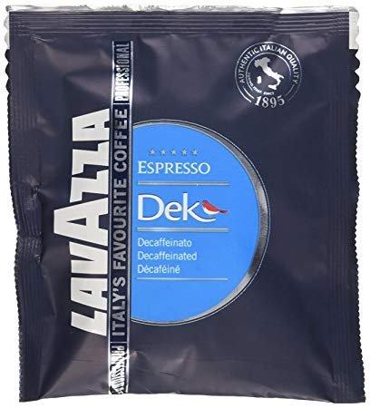 Lavazza Dek Decaffeinated ESE Esrpresso Pods 44mm (1 Pack of 18)