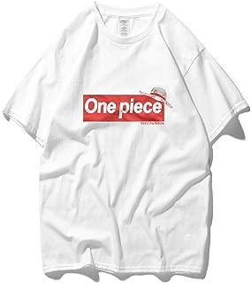 Lu&lu Unisex Anime One Piece Luffy/Roronoa Zoro T-Shirt Fit Cotton Graphic Tee Casual Top Plus Size